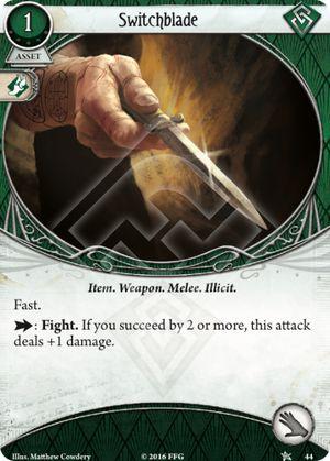 Switchblade - Core Set - Arkham Horror: The Card Game - Arkham