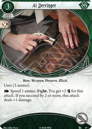 41 Derringer - Core Set - Arkham Horror: The Card Game - Arkham