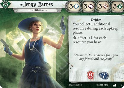 Calamity Jen - Arkham Horror: The Card Game Decks - Arkham