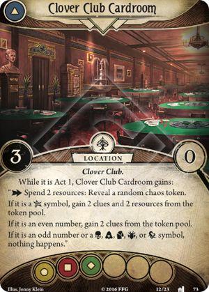Clover Club Cardroom