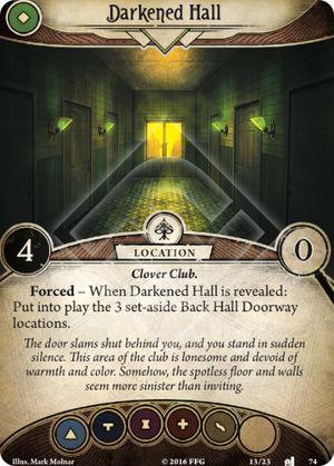 Darkened Hall
