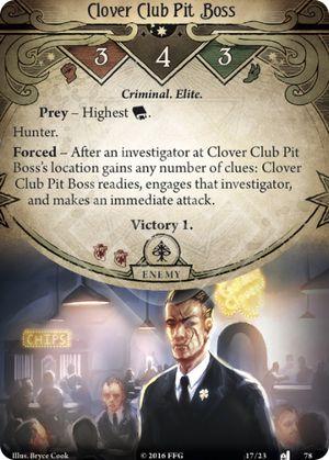 Clover Club Pit Boss