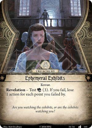 Ephemeral Exhibits