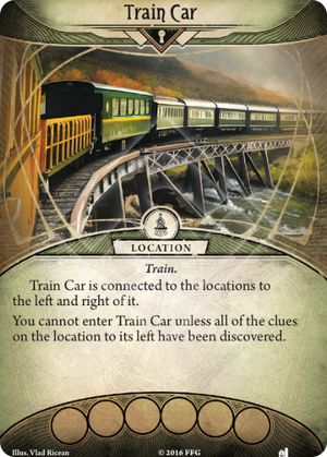 Train Car - The Essex County Express - Arkham Horror: The