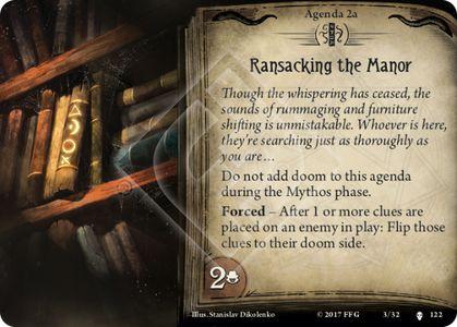 Ransacking the Manor