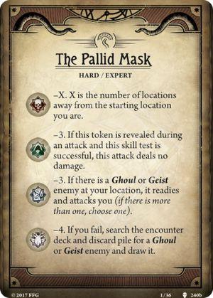 The Pallid Mask