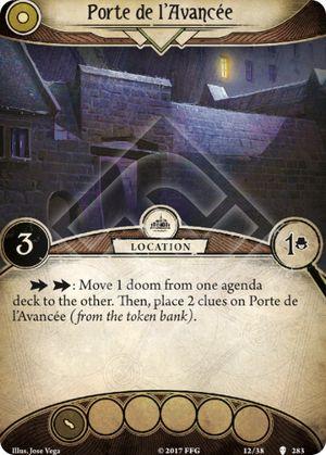 Porte de l'Avancée