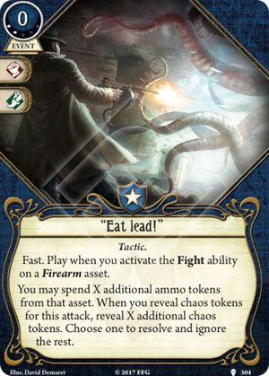 """""""Eat lead!"""""""
