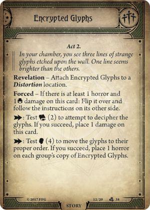 Encrypted Glyphs