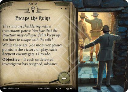 Escape the Ruins