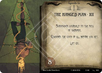THE HANGED MAN · XII