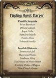 Finding Agent Harper
