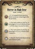 Horror in High Gear