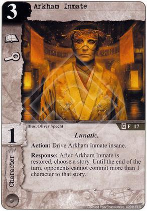 Arkham Inmate