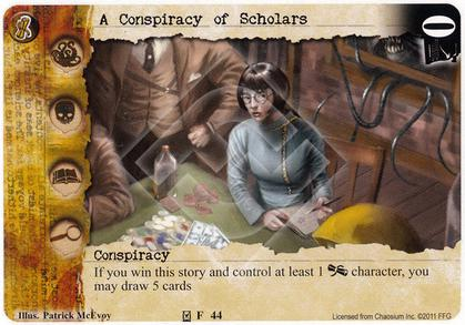 A Conspiracy of Scholars