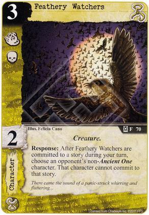 Feathery Watchers