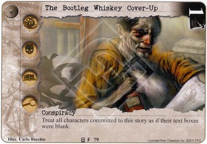 The Bootleg Whiskey Cover-Up
