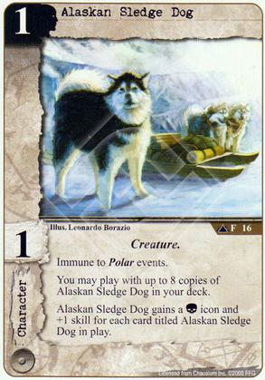 Alaskan Sledge Dog