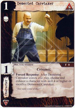 Demented Caretaker