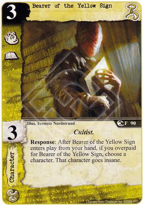 Bearer of the Yellow Sign