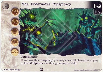 The Underwater Conspiracy