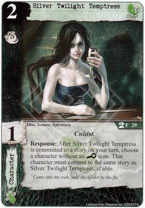 Silver Twilight Temptress