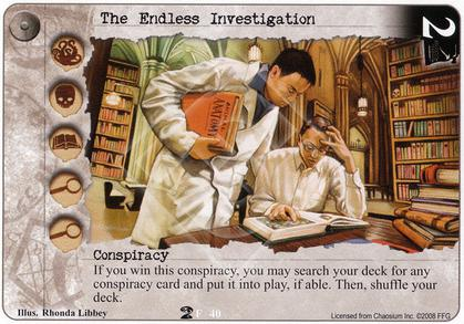 The Endless Investigation