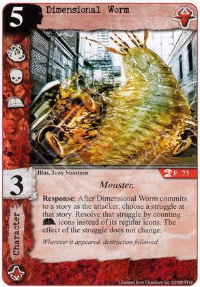 Dimensional Worm
