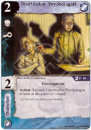 Unorthodox Psychologist