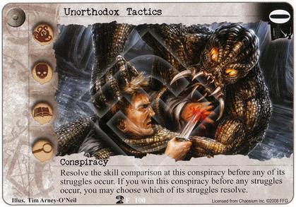 Unorthodox Tactics