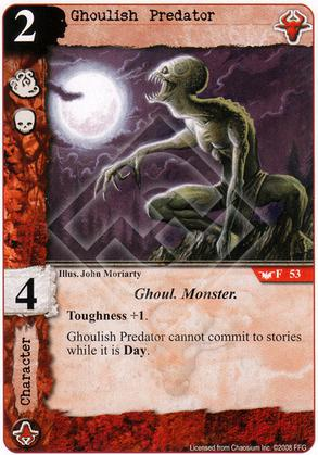 Ghoulish Predator