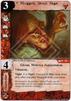 Shuggob, Ghoul Sage