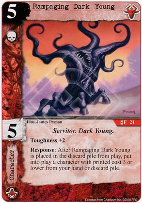 Rampaging Dark Young