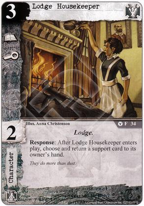 Lodge Housekeeper