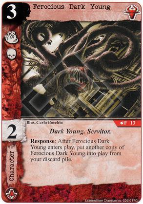 Ferocious Dark Young