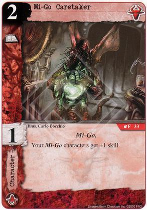 Mi-Go Caretaker