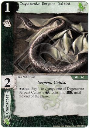 Degenerate Serpent Cultist
