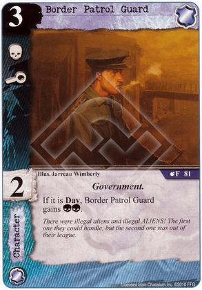 Border Patrol Guard