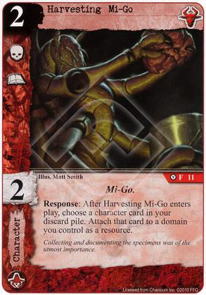 Harvesting Mi-Go