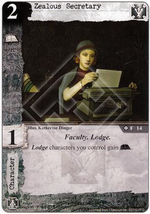 Zealous Secretary
