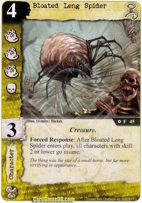 Bloated Leng Spider