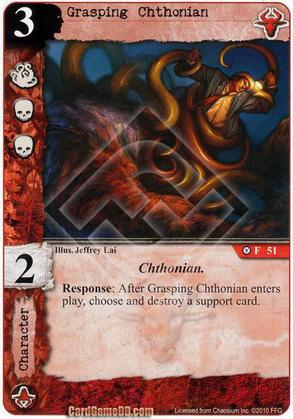 Grasping Chthonian