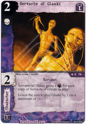 Servants of Glaaki