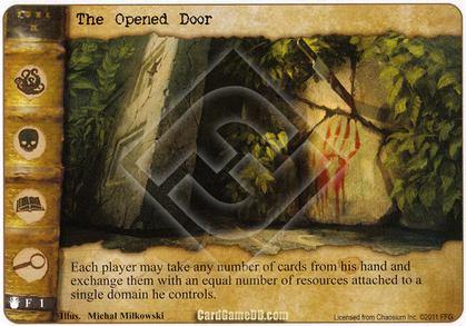 The Opened Door