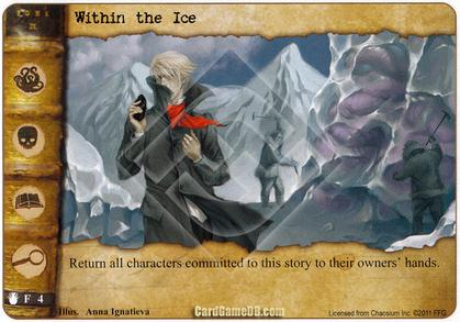 Within the Ice