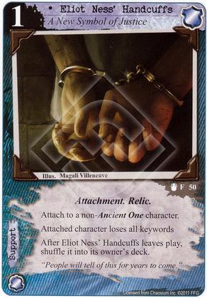 Eliot Ness' Handcuffs