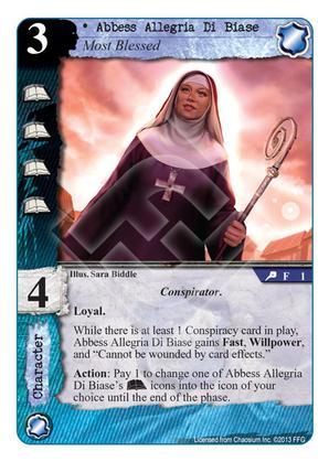 Abbess Allegria Di Biase