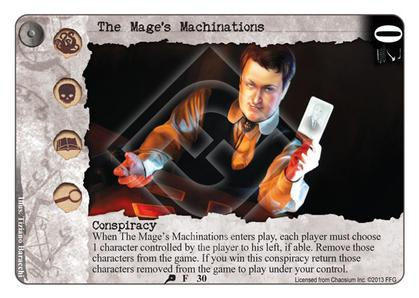 The Mage's Machinations
