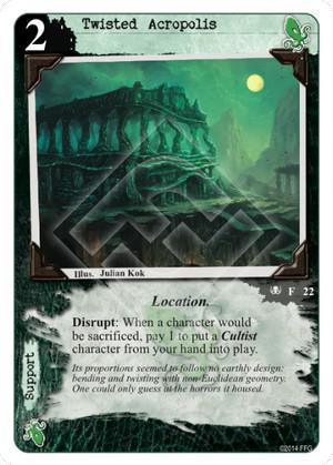 Twisted Acropolis