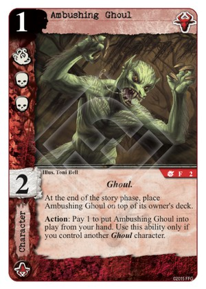 Ambushing Ghoul